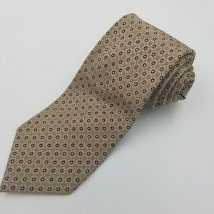 Jones New York Gold silk mens dress tie